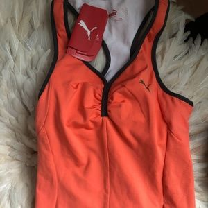 $20 PUMA Coral Women's Workout Top NWT